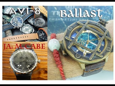 A look at BALLAST, AVI-8, Spinnaker, and James McCabe Watches