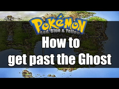 Pokemon Red/Blue/Yellow - How to get past the ghost
