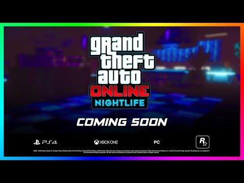 GTA Online Nightlife Update NEW Details - Release Date, DLC Trailer, Nightclub Clues & MORE! (GTA 5)