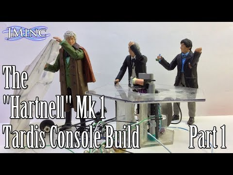 Custom C.O. Scale 1st Doctor's Mk 1 Tardis Console Build Video: Part 1