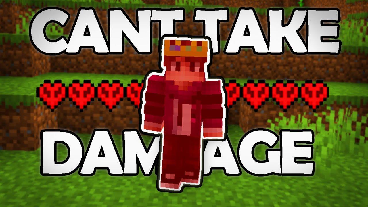 How I Beat Minecraft WITHOUT TAKING DAMAGE