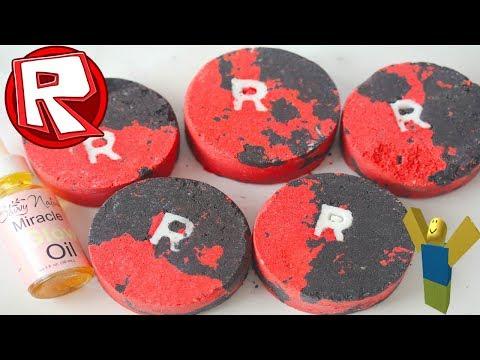 Making ROBLOX BATHBOMBS Roblox Bath Bomb DIY! Making Easy Lush Bathbombs