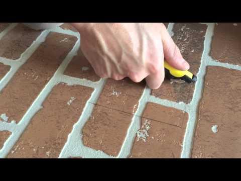 DIY: FAUX BRICK WALL | HOME DEPOT