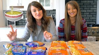 Nissin Top Ramen Taste Test with Bre!