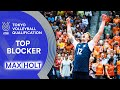 Max Holt Is Moving Up In Space Top Scorer Volleyball Olympic Qualification 2019