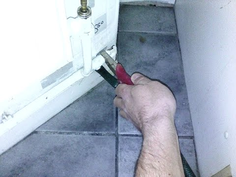 Flush central heating (drain & fill) eg after adding cleaner. DIY know how.