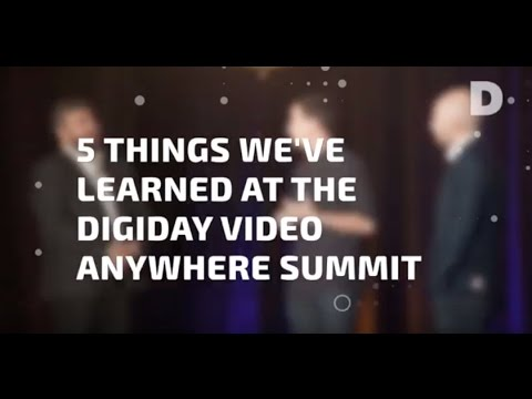 Wibbitz covers the Digiday Video Anywhere Summit
