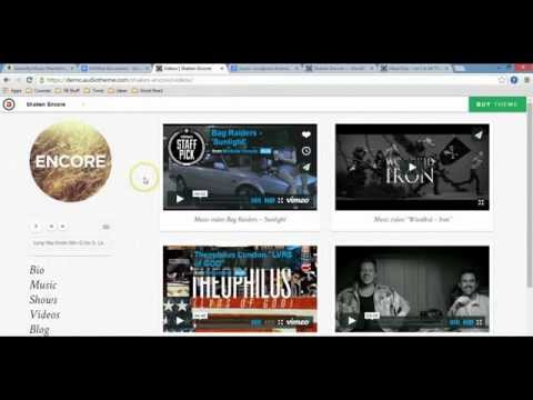 Choosing The Right Wordpress Theme For Your Music Website
