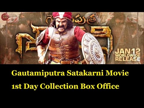 Watch Gautamiputra Satakarni Movie 1st Day Collection | GPSK Movie first Day Collection