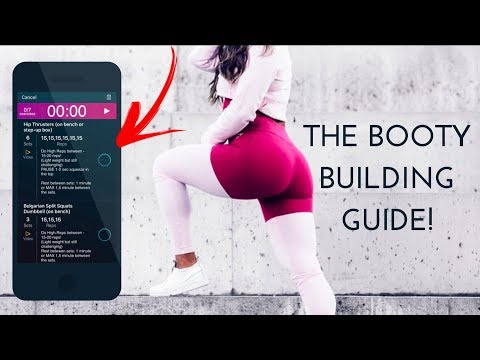 THE NEW BOOTY GUIDE - 8 WEEK WORKOUT PROGRAM RELEASED!