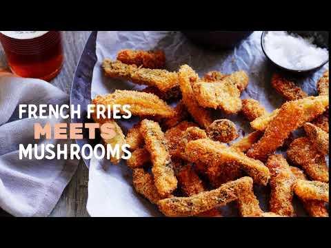 Summer Mushie Mash-ups (Mushrooms/Fries)