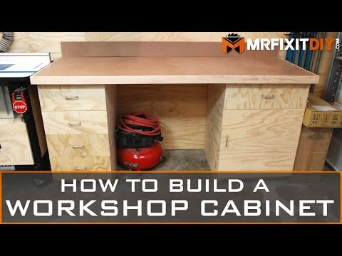 How to Build a Workshop Cabinet | DIY Shop Upgrade