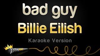 Download Billie Eilish - bad guy (Karaoke Version) Video