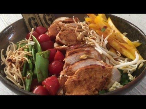 Hoisin Chicken Salad