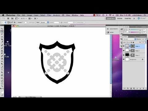 Making a Crest Using Photoshop : Photoshop Tips