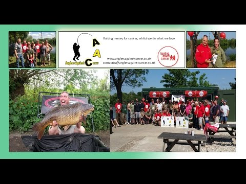 Anglers Against Cancer Farlows Lake Carp Fishing Event.