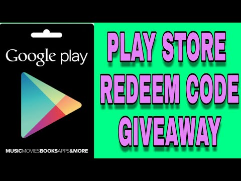 Giveaway winner announce | Play store Redeem code