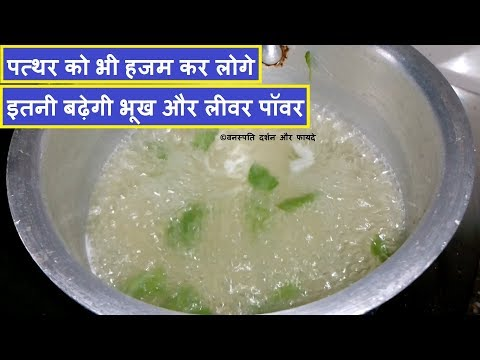 Boost Liver Digestive Power and Digest even the Stone in Hindi With English Subtitle