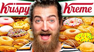 We Tried EVERY Krispy Kreme Donut Flavor