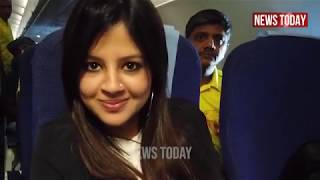 Watch CSK's Mohit Sharma funny Vlog During Flight With Sakshi Dhoni Make MS Dhoni Shocked