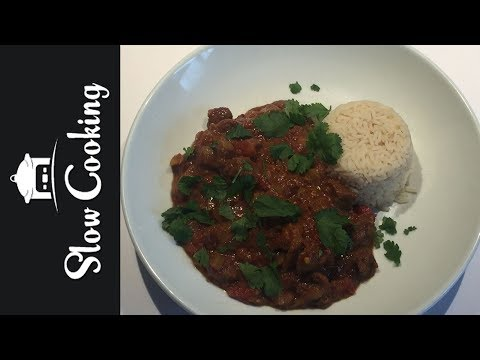 This Slow Cooker Beef Curry was Super Spicy, But Really Delicious