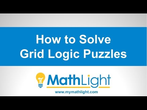How to Solve a Grid Logic Puzzle