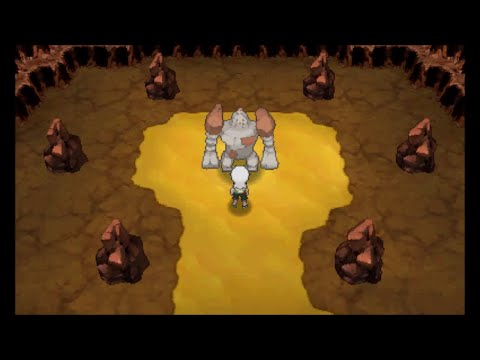 Pokemon Omega Ruby/Alpha Sapphire - Catching Regirock