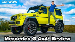 Mercedes G500 4×4² review - see why it's worth £250,000!