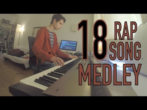 18 Rap/Hip Hop Songs in Under 5 Minutes! (Piano Medley)