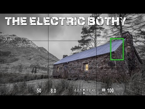 The Electric Bothy: Corryhully The Luxury Wild Camp