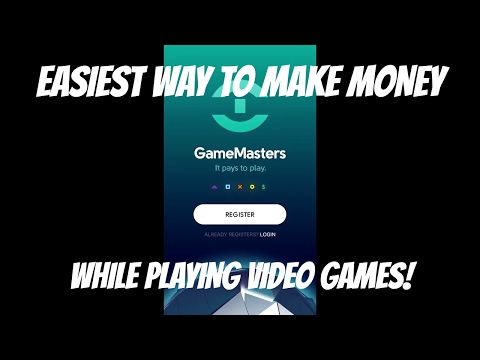 GameMaster - Make EASY MONEY by playing PS4 and XBOX ONE