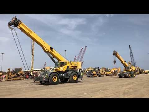 May 8 & 9 | Heavy equipment auction in Dubai (UAE)