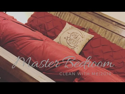 MASTER BEDROOM CLEANING ROUTINE|CLEANING MOTIVATION 2018