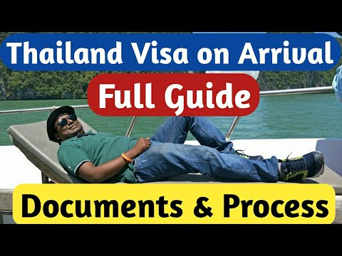 Thailand Visa on Arrival   Indians   Documents Required   Process