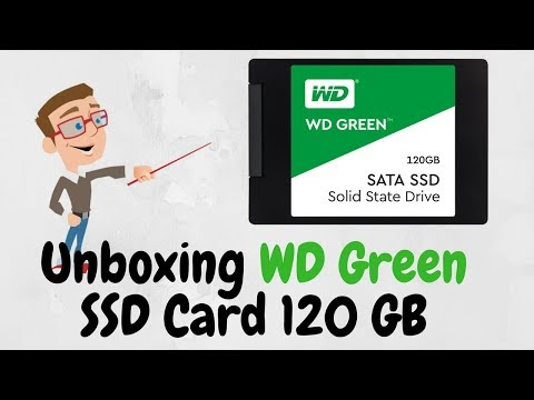 [What Is SSD ] Unboxing WD Green SSD Card 120 GB