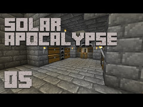 ►Solar Apocalypse LP: SATURDAY SPECIAL-ISH!   Ep. 5   Modded Minecraft Survival◄