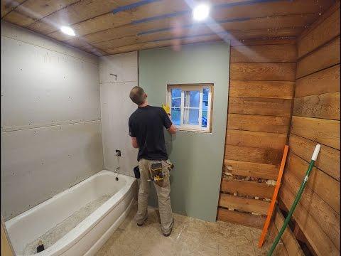 Bathroom Drywall and Backer Board