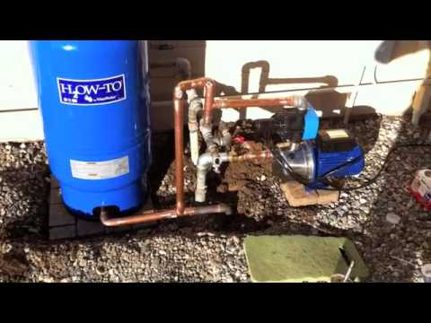 Booster pump & pressure tank - Harbor Freight.m4v