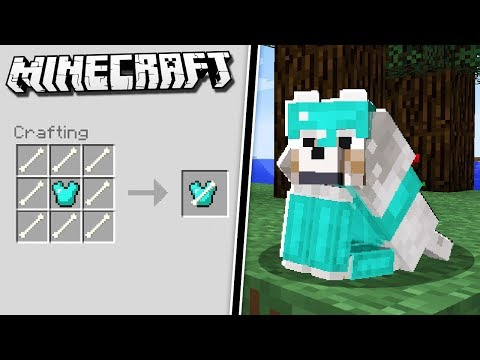 How to get WOLF ARMOR in Minecraft!