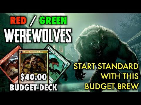 MTG - Start Playing Standard For $40.00 with Budget Werewolves for Magic: The Gathering