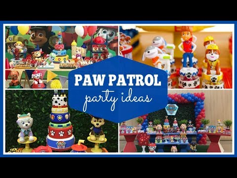 Awesome Paw Patrol Party Ideas