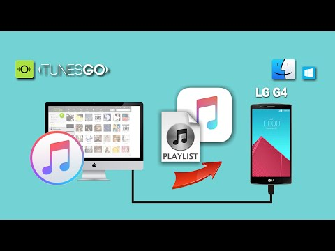How to Sync Songs & Playlist from iTunes to LG G4 / G4c / G3 / G2 On Mac & Windows