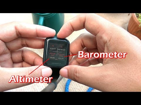How to View Altimeter, Barometer & Calibrate Compass in Amazfit Bip