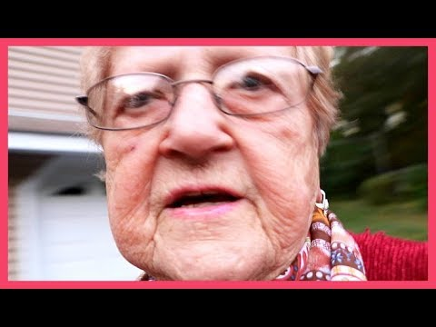 Grandma Vlogs All By Herself