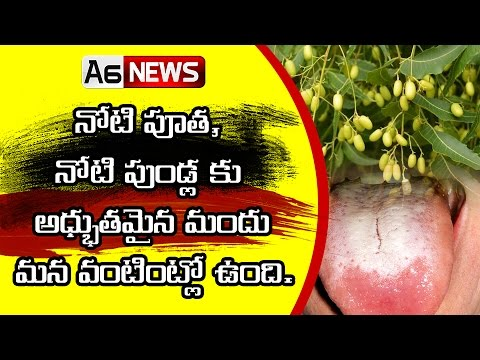 home remedies for mouth ulcers on tongue-a6news.com