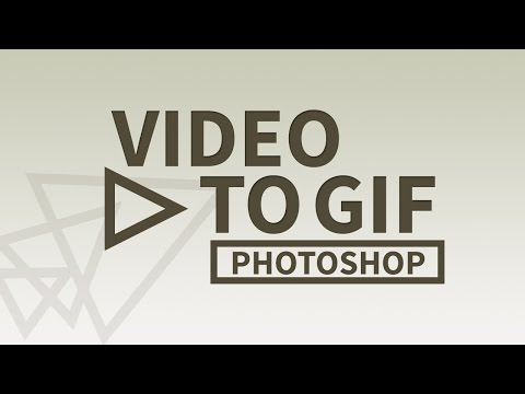 How to Make a GIF from a Video using Photoshop | Quick Tutorial