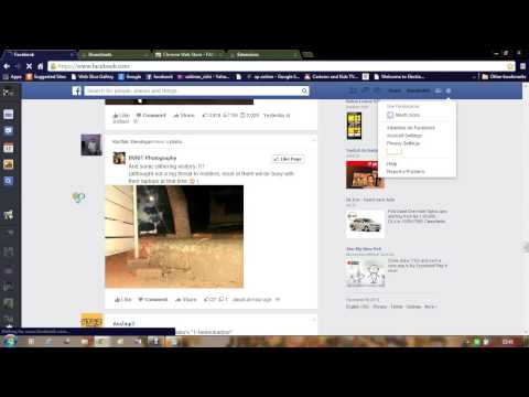 how to get new facebook look in your computer