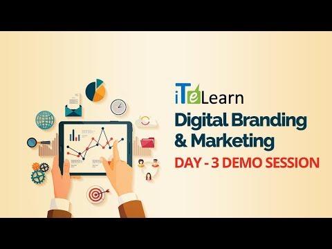 Digital Branding & Marketing Day - 03 Demo Session - iTeLearn