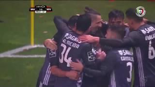 Resumo SC Braga 1-3 Benfica (Liga 18ªJ)