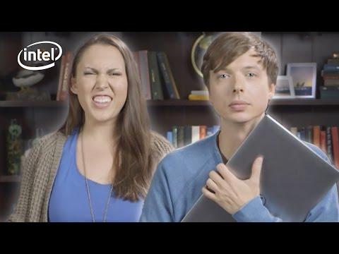 Friends Swap Laptops // Presented By BuzzFeed & Intel